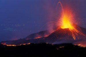 Mt. Etna eruption